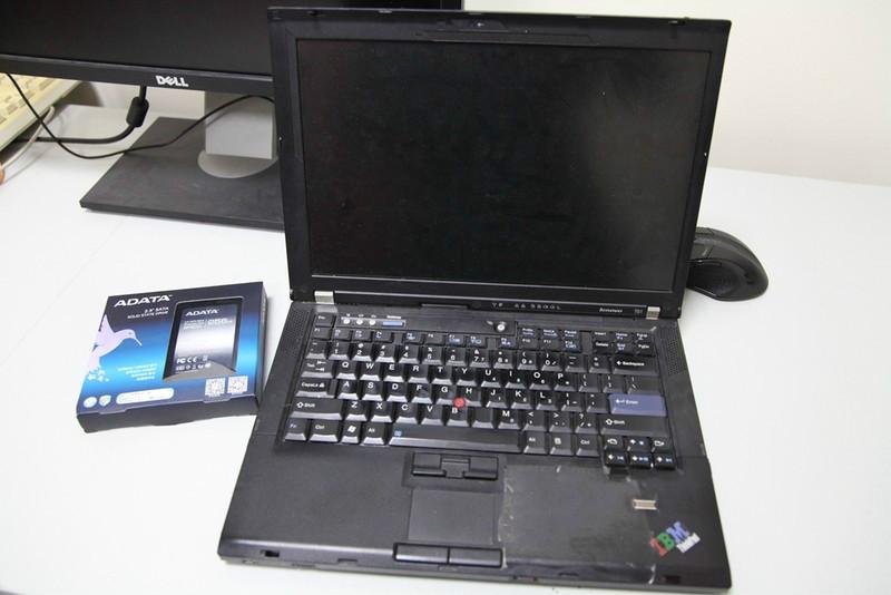 联想ThinkPad T61安装固态硬盘和重装系统教程插图