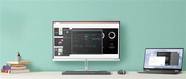 惠普全新无线4K显示器亮相:延迟控制在30%