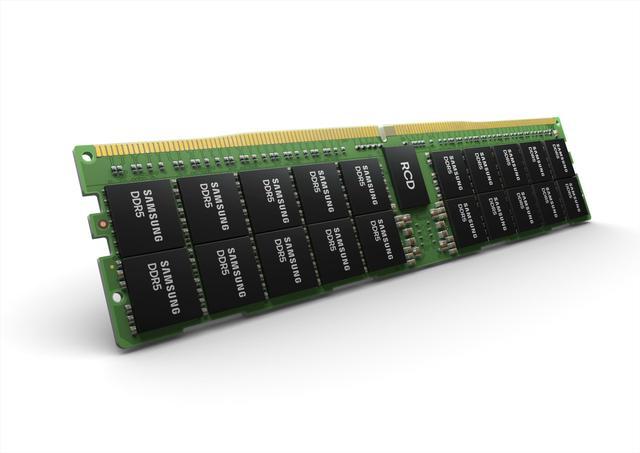 """三星发布全世界""""第一款""""DDR5单条512GB服务器内存"""