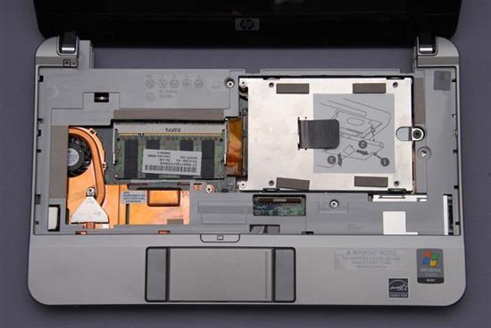 惠普(HP) Compaq 2133 拆机升级硬盘和内存教程插图(6)
