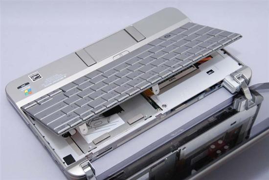惠普(HP) Compaq 2133 拆机升级硬盘和内存教程插图(4)