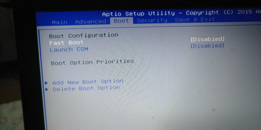 华硕电脑BIOS里没有硬盘启动设备设置