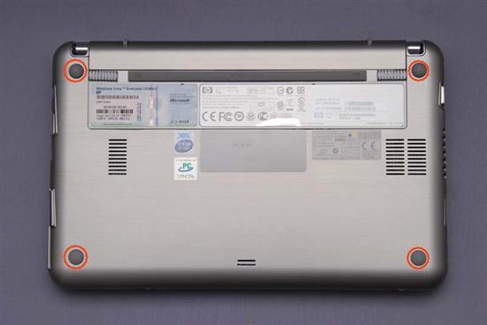 惠普(HP) Compaq 2133 拆机升级硬盘和内存教程插图(8)