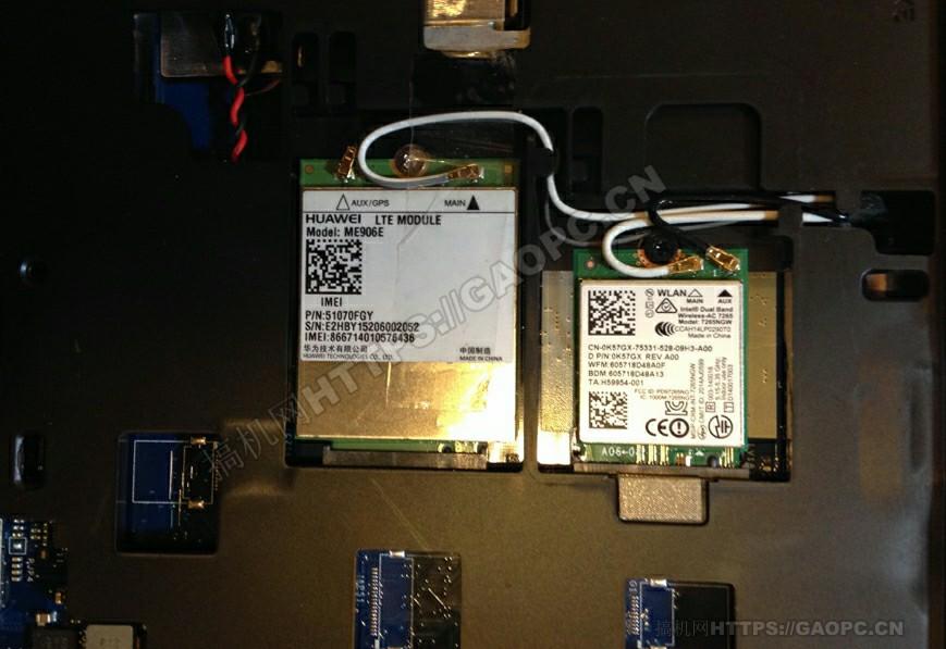 戴尔latitude E5550网卡模块