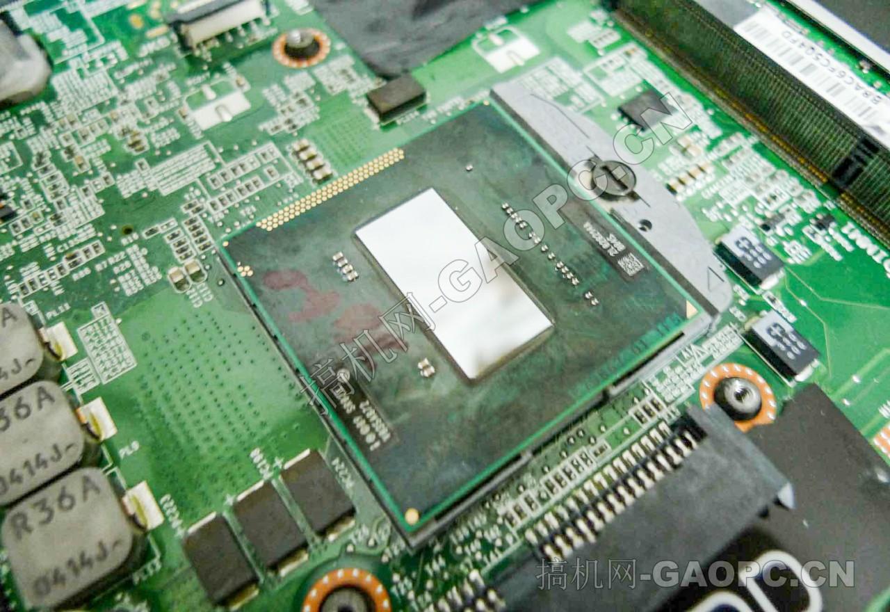 戴尔 M6600拆机-处理器特写 Intel 酷睿i7 2920XM