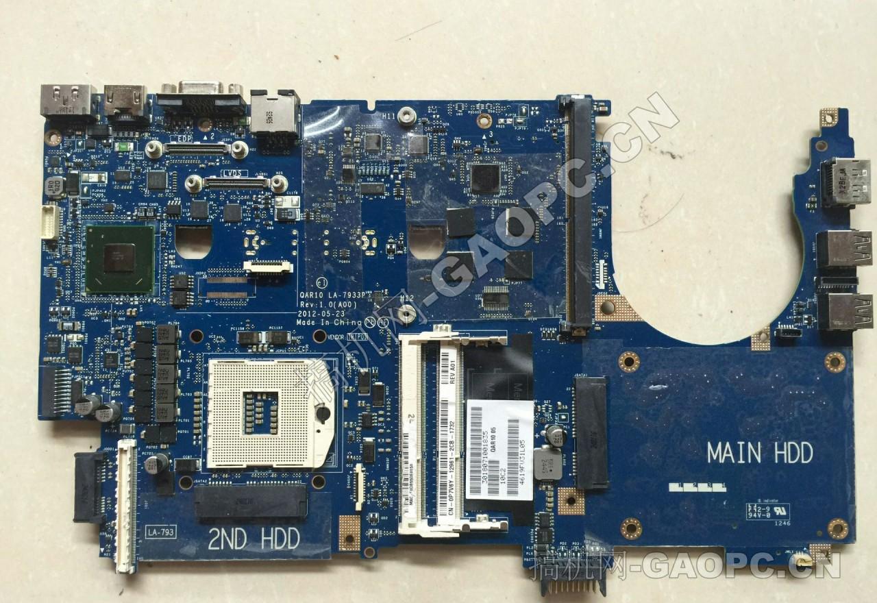 戴尔 M6600拆机-主板上的所有SATA接口