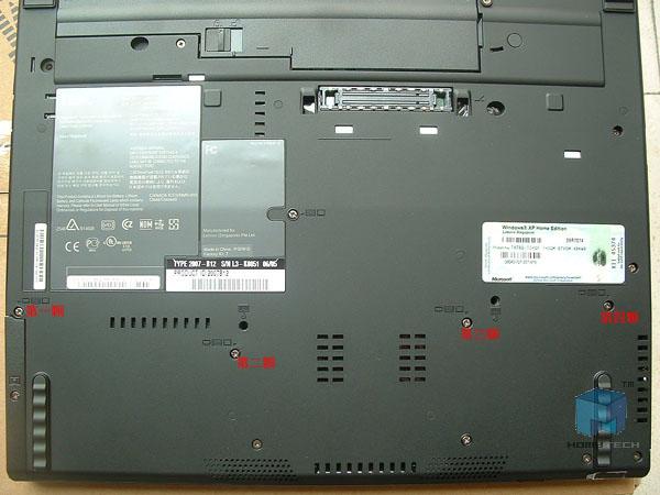联想ThinkPad T61安装固态硬盘和重装系统教程插图(1)