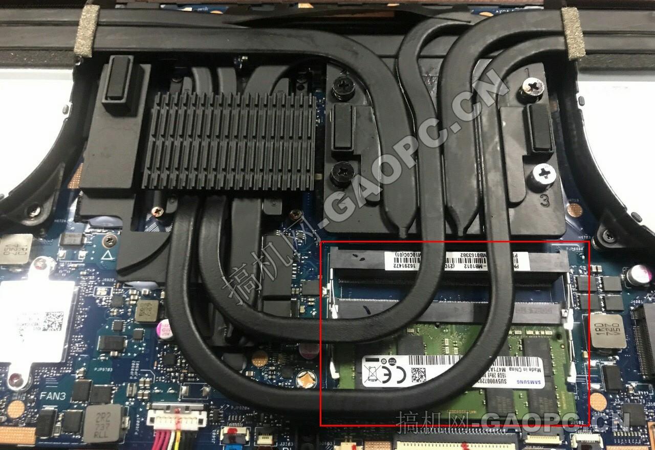 华硕 玩家国度 S7ZC-内存插槽