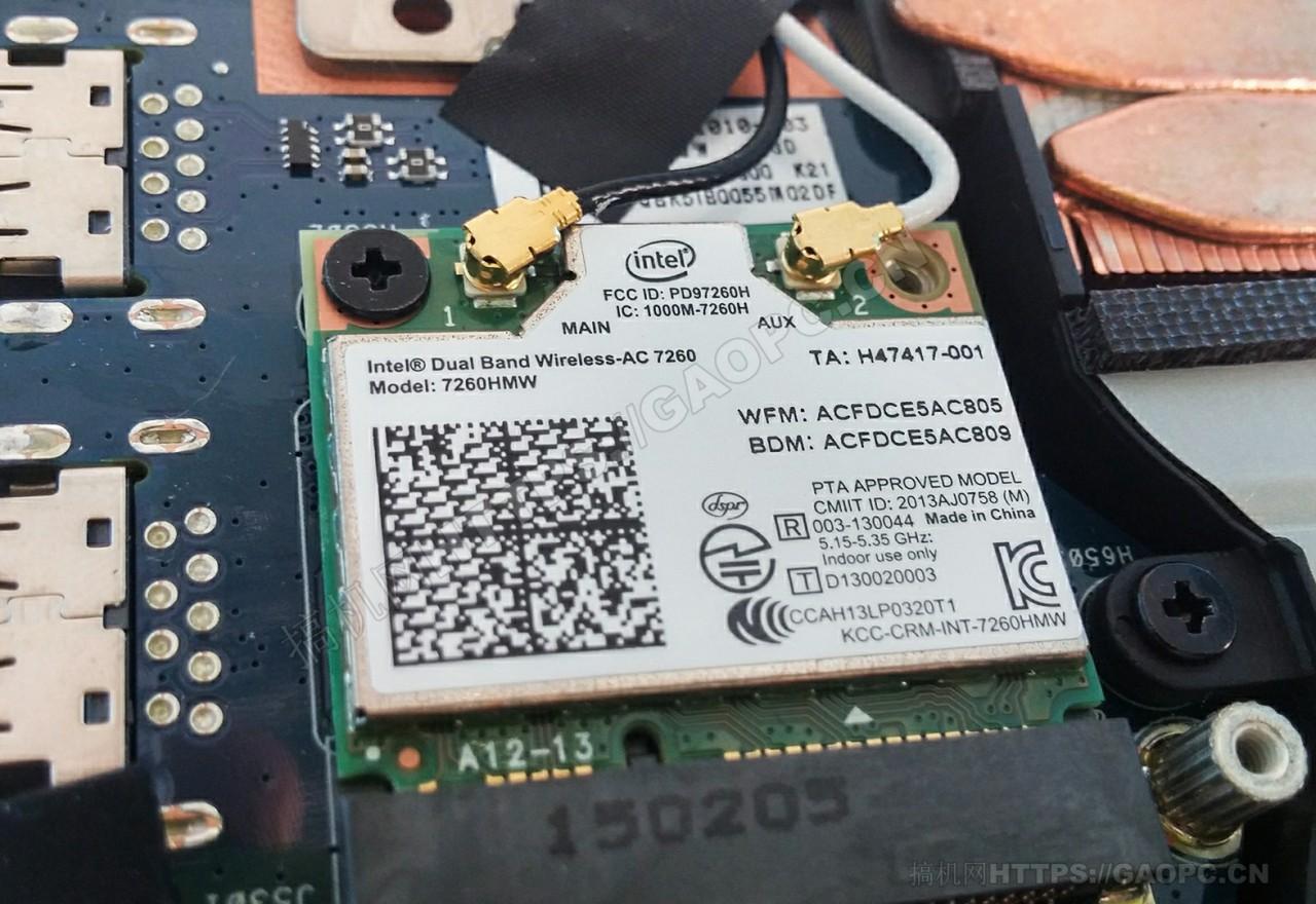 华硕zenbook Pro Ux501网卡模块intel 7260hmw