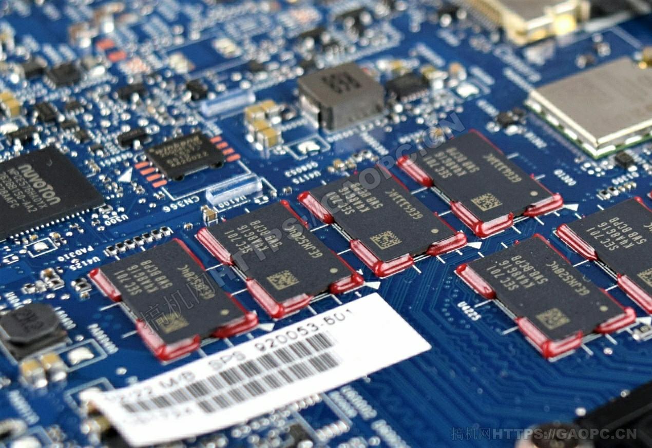 惠普elitebook X360 1030 G2拆机 内存lpddr4