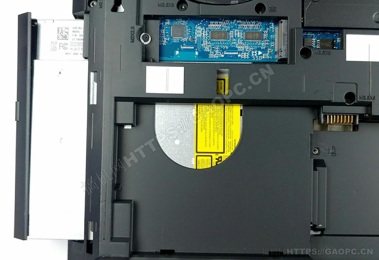 惠普zbook 17 G6 M.2 固态硬盘接口和光驱