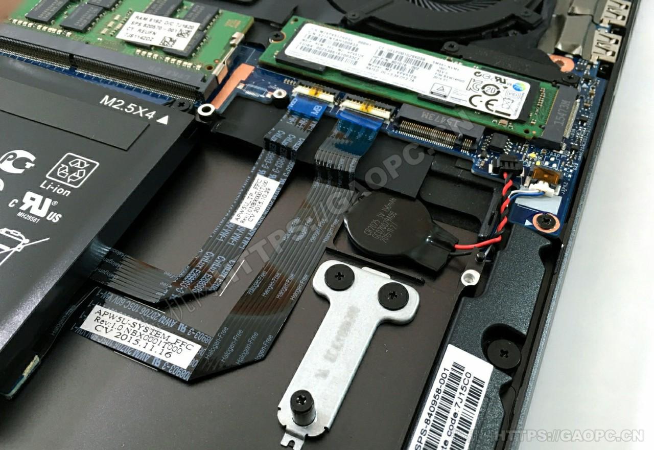 惠普 Zbook Studio G3 M.2接口固态硬盘