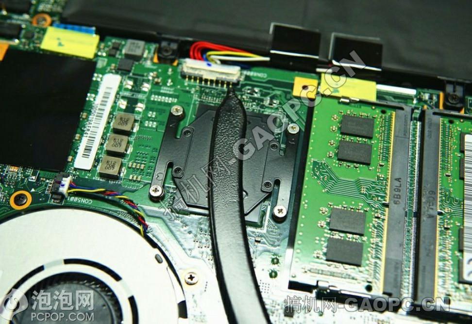 机械师 F117-S拆机-处理器