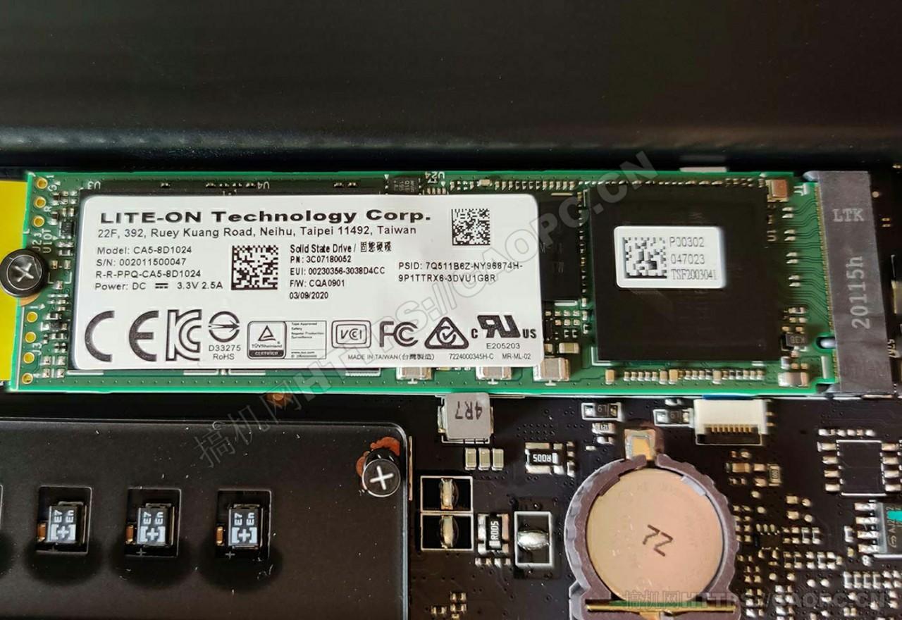 雷蛇blade 15 Advanced拆机 M.2 Pcie 3.0 X4 Nvme 固态硬盘