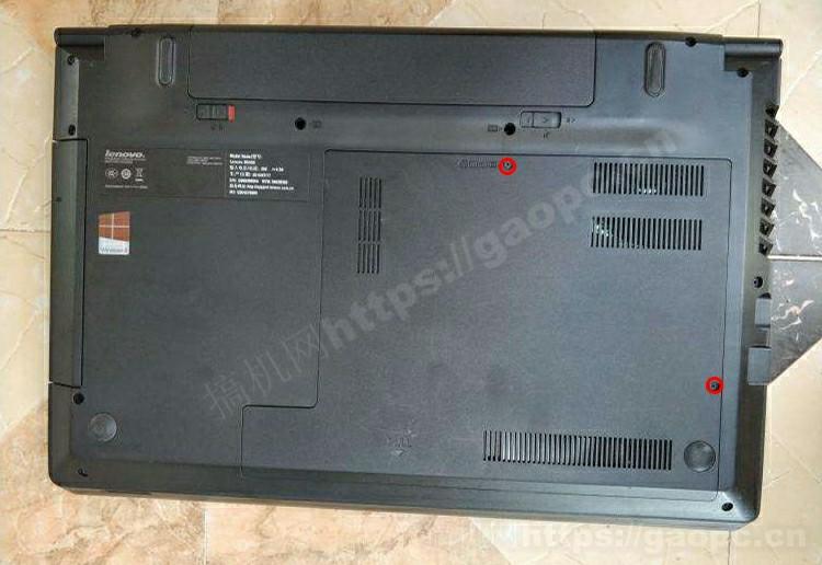 联想b4500拆机 硬件插槽排布