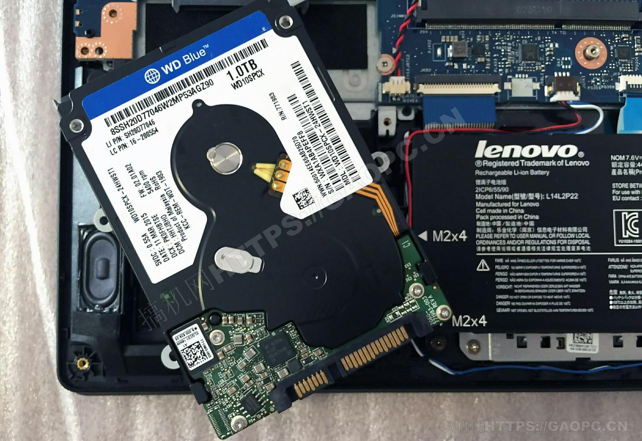 联想e31 70 Sata机械硬盘西部数据蓝盘