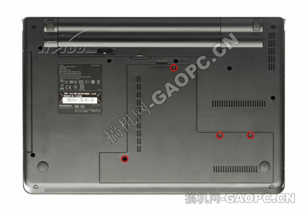 联想ThinkPad E420拆机-拆机