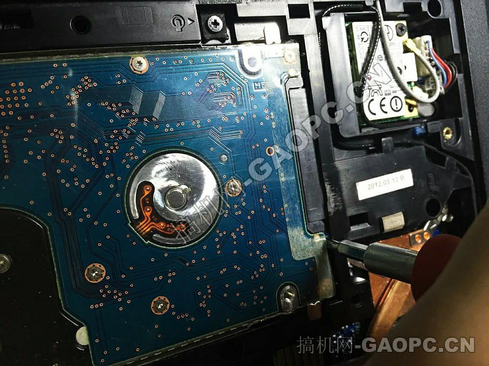 联想 ThinkPad E430拆机-机械硬盘
