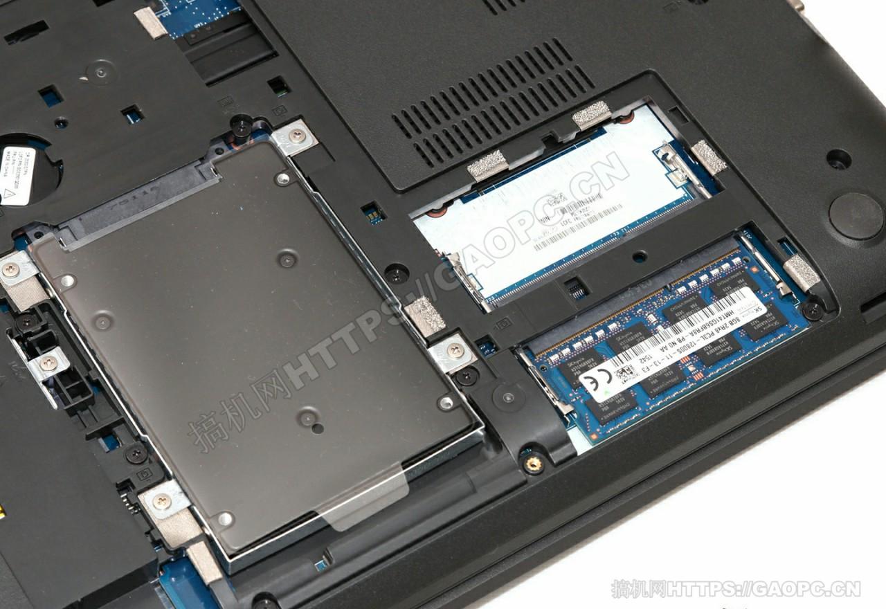 联想thinkpad E560硬盘和内存