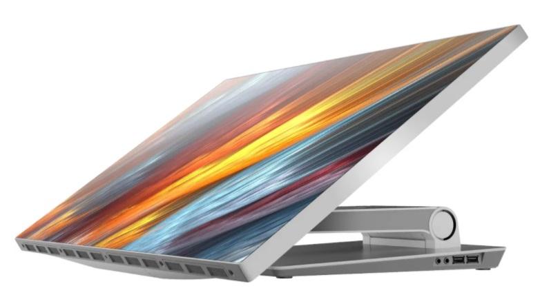 攀升 Modern PC 一体机曝光:专业级色域,四联轴底座