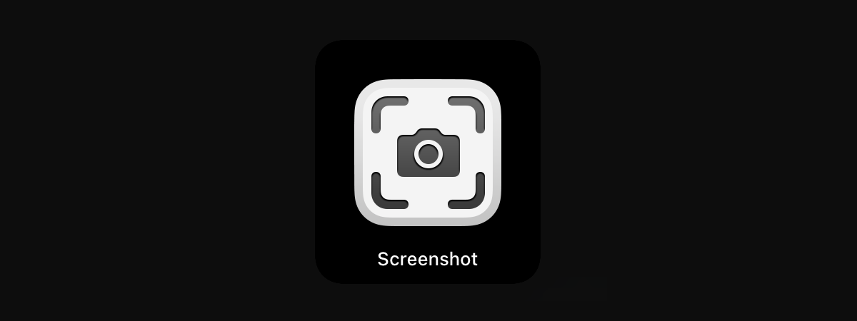 在Mac上的屏幕截图