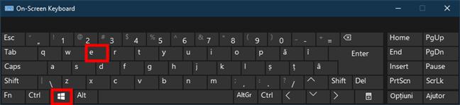 通过按键盘上的Win + E打开(Windows)File Explorer