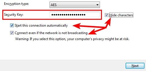 如何在Windows 7中连接到隐藏的无线网络