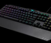 华硕TUF游戏键盘 K5点评:一款带RGB照明的平价键盘