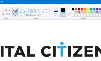 如何使用Windows 10的Paint在多页上打印图像