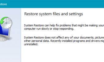如何在Windows 10中配置系统还原