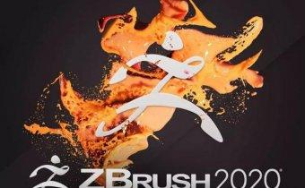 三维雕刻建模软件 ZBrush 2020.1 Win英文/中文破解版