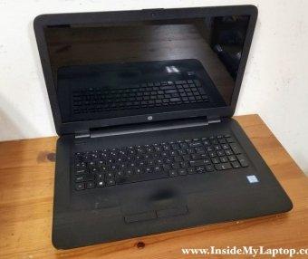 惠普 17-x000\17-x199笔记本电脑拆机图文教程