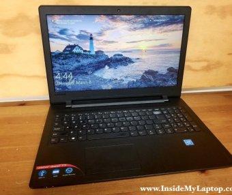 联想Ideapad 110-15IBR\110-15ACL笔记本电脑手动拆机教程