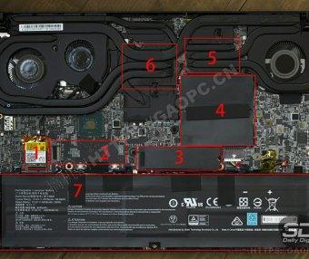 微星Creator 15 A10Sx拆机加装M.2 PCIE固态硬盘和内存条