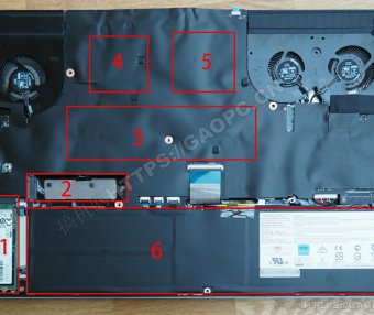 微星Creator 17 A10SGS拆解加装固态硬盘和内存条