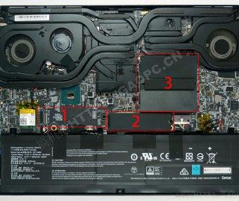 微星 GS66 Stealth拆机升级硬盘视频教程