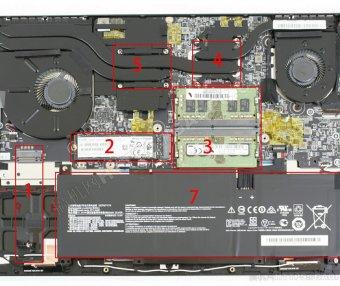 微星Modern 15 拆机加装M.2 固态硬盘和内存条