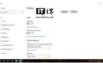 Win10现已支持HDR模式:接口要求颇高