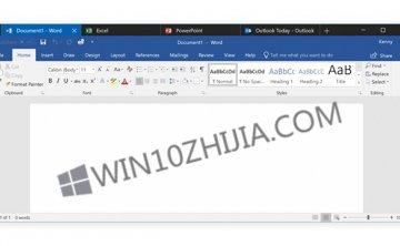 Office Apps现可在Windows10 Redstone 5中使用聚集
