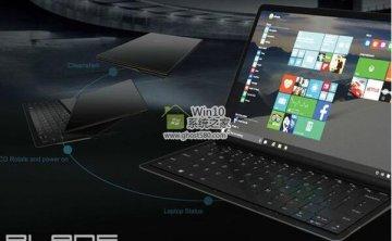 遐想炫耀了Blade,另一种新颖的Windows 10 2合1观点