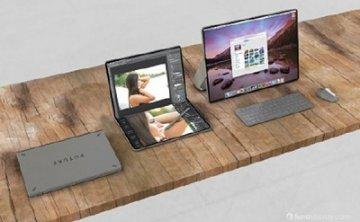 苹果设计推出可折叠iPad与微软双屏版Surface匹敌