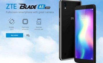 中兴于俄罗斯推出最新入门智能手机: Blade A5 2019