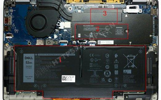 戴尔Latitude 13 7310拆机:硬件集成度高仅能升级M.2固态硬盘