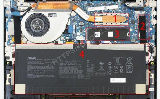 华硕Zenbook S 2020拆解升级M.2 PCIE固态硬盘