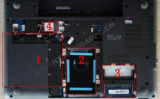 联想ThinkPad E560拆机:陈年老设计仅能升级内存和光驱扩展硬盘
