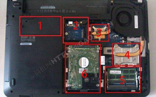 联想ThinkPad E440拆机加装固态硬盘和内存条
