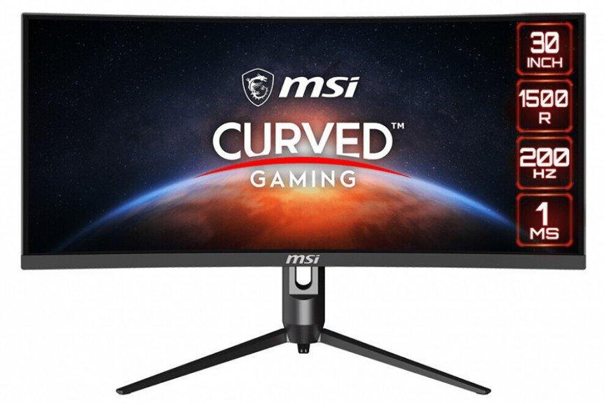 微星发布 Optix MAG301 CR2 曲面带鱼屏显示器