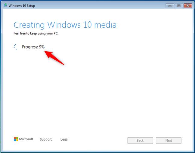 创建Windows 10媒体