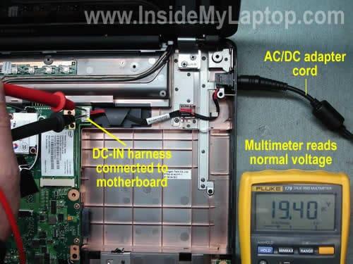 笔记本电脑无法启动。是坏电源插座还是主板?插图(1)