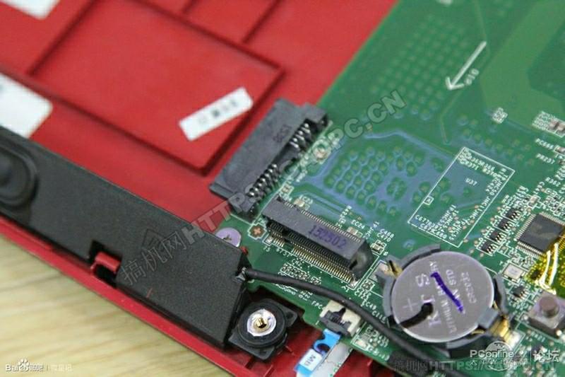 微星gl62 6qd 021xcn拆机 M.2 Pcie 插槽